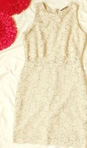 Gold sequined dress. Great for Homecoming. Size Sm